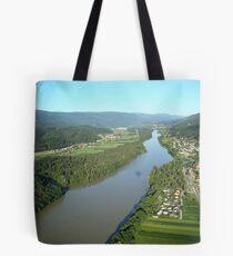 River Drava Valley Tote Bag