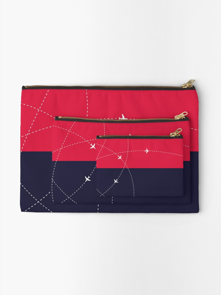 Alternate view of Simplee The Best: Travel Pouch - Design 1 Zipper Pouch