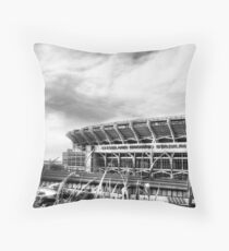 Cleveland Browns Stadium Throw Pillow