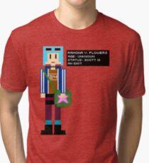 Ramona Flowers - Age: Unknown - 8-Bit Tri-blend T-Shirt