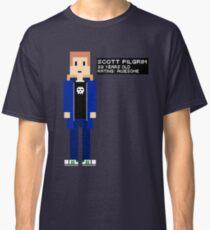 Scott Pilgrim - Rating: Awesome - 8-Bit Classic T-Shirt