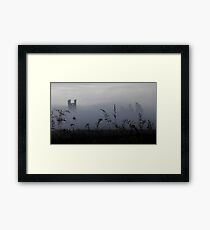 Castle in the Fog Framed Print