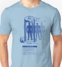 Teleporter Warning Label Shirt Unisex T-Shirt