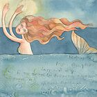 """Mermaid ,illustration of the story """"Ligea"""" by vimasi"""
