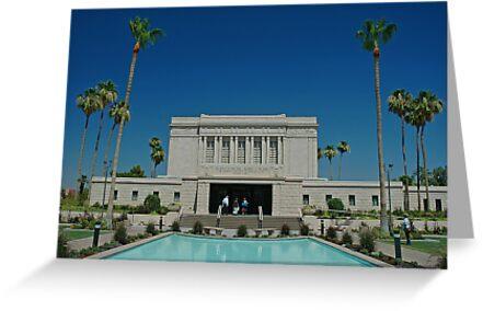 Mesa Arizona LDS Temple by Nick Boren