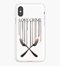 Love crime iPhone Case