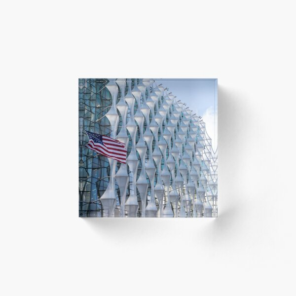 The Embassy of The United States of America  Acrylic Block