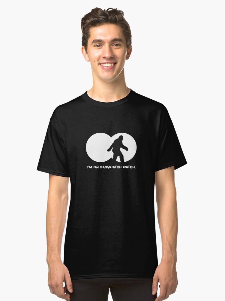 Alternate view of Sasquatch Watch Classic T-Shirt