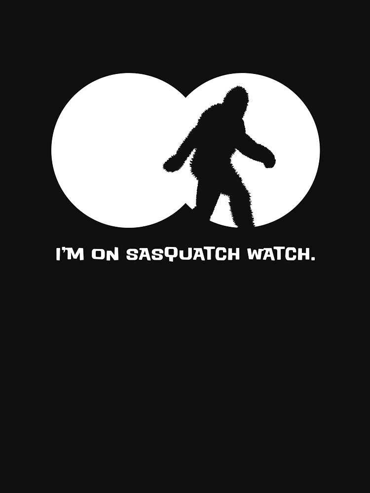 Sasquatch Watch by twistedshadow