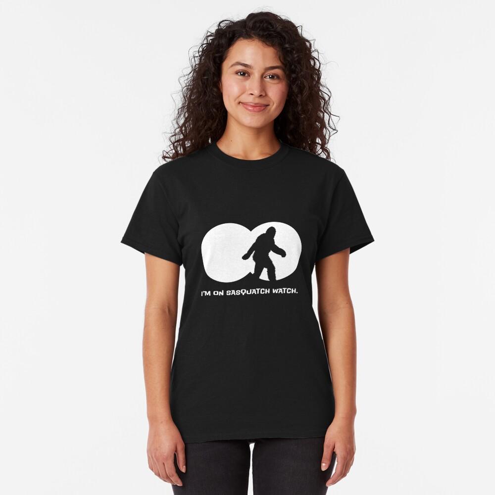 Sasquatch Watch Classic T-Shirt