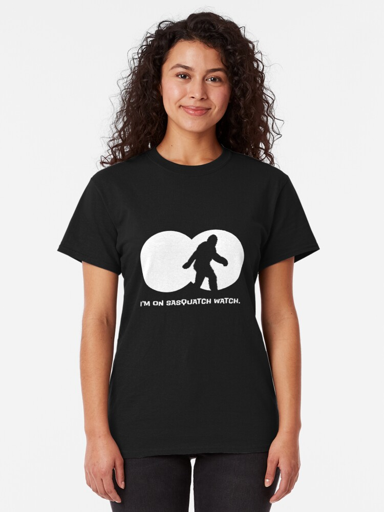 Alternate view of Sasquatch Watch Classic T-Shirt