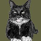 Tuxedo Cat by SlideRulesYou