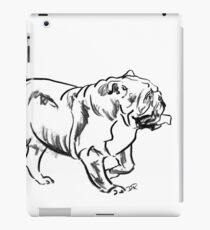 Bulldog Drawing iPad Case/Skin