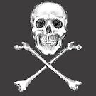 Skull and Crossbones by SlideRulesYou