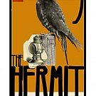 Dada Tarot- The Hermit by Peter Simpson