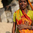 Indian Lady by Hannah Millerick