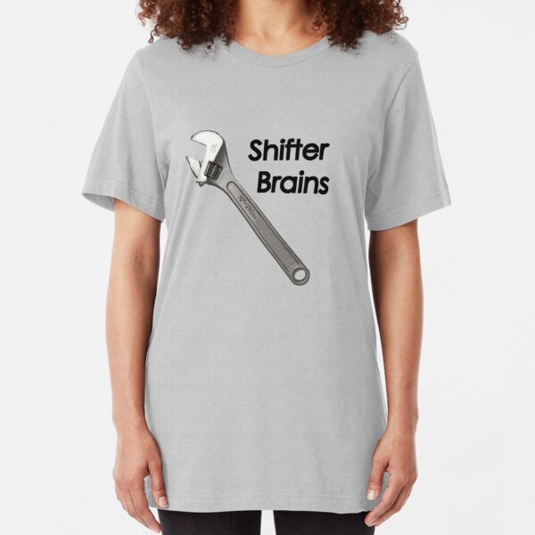 Shifter Brains Slim Fit T-Shirt
