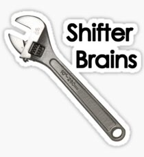 Shifter Brains Sticker