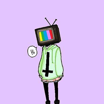 tv head by abigailahn