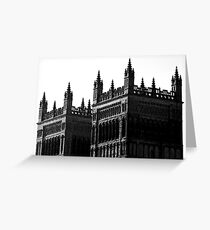 Spires to Heaven Greeting Card