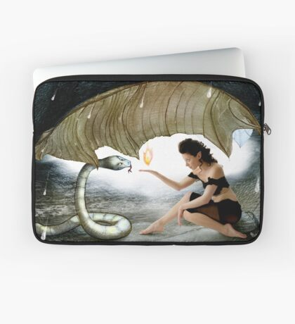 The Elf and the Snake Laptop Sleeve