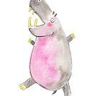Happy Hippo by jillianailsa