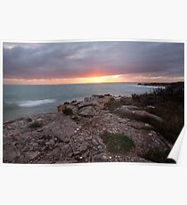 Hooper's Beach Sunrise, Robe Poster