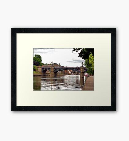 Skeldergate Bridge - York. Framed Print