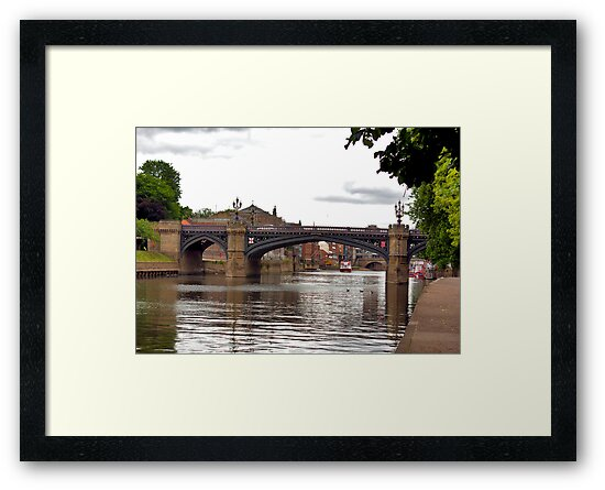 Skeldergate Bridge - York. by Trevor Kersley