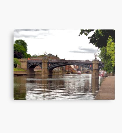 Skeldergate Bridge - York. Metal Print
