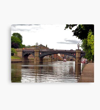 Skeldergate Bridge - York. Canvas Print