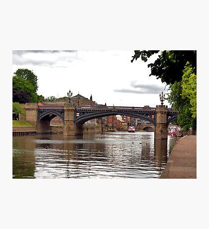 Skeldergate Bridge - York. Photographic Print