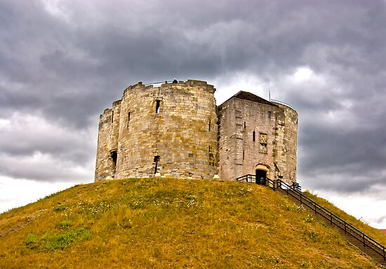 Clifford's Tower - York by Trevor Kersley