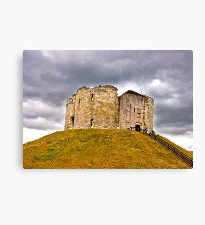 Clifford's Tower - York Canvas Print