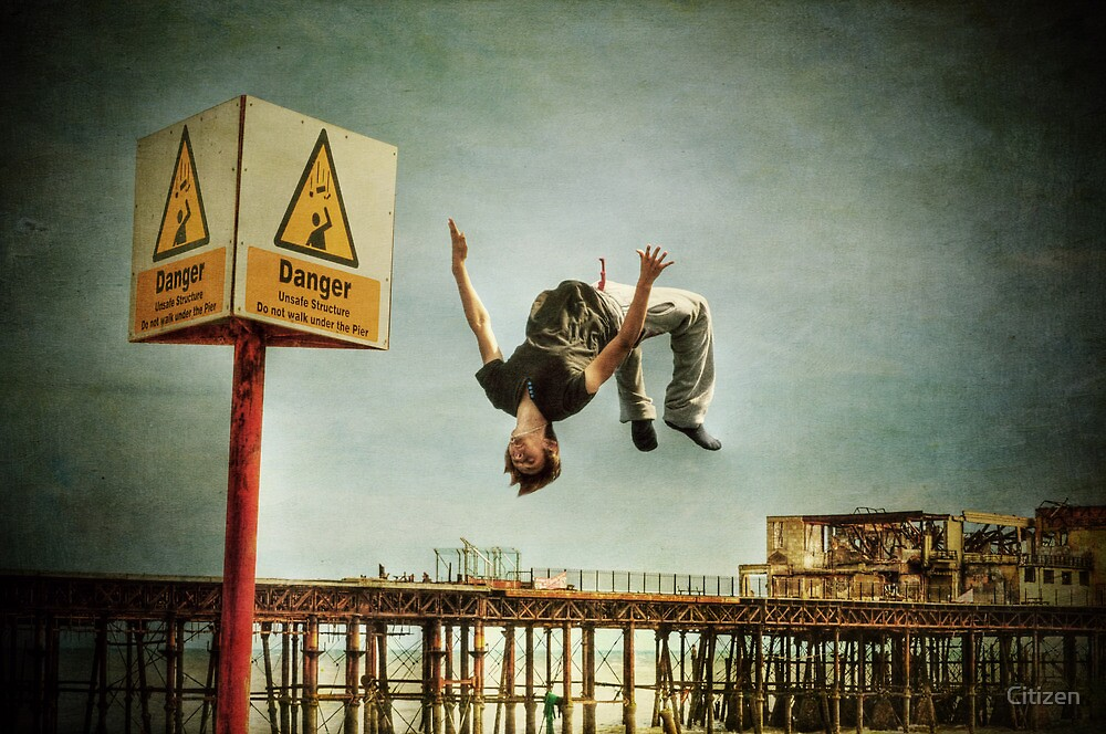 Danger, stuff, falling by Nikki Smith (Brown)