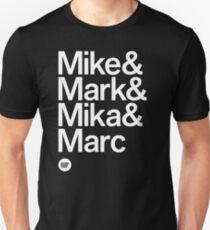 BBG021B — Fab Four (Reversed) T-Shirt