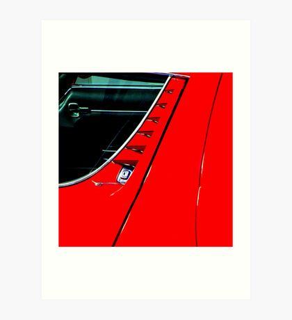 Car touch 9 Art Print