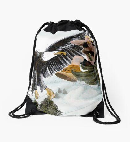 Winter is coming Drawstring Bag
