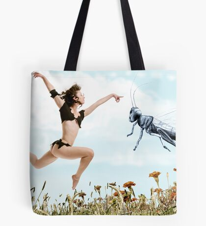 Jump like a cricket Tote Bag