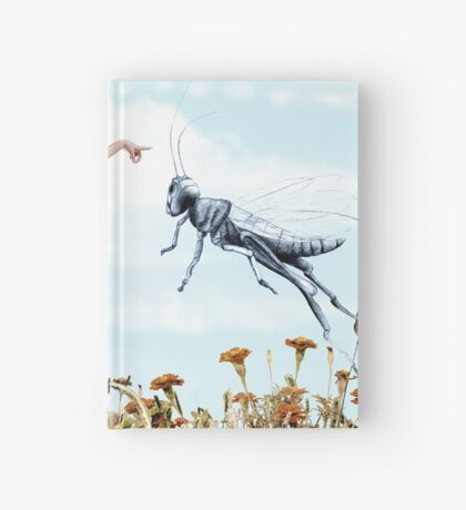 Jump like a cricket Hardcover Journal