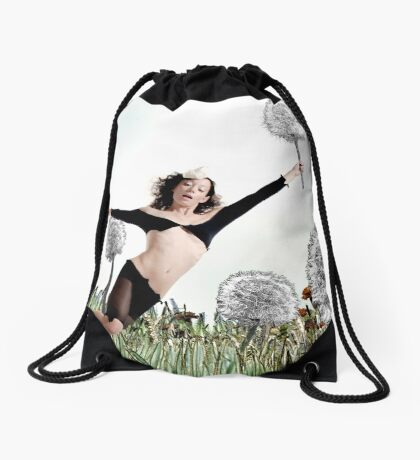 Fly away Drawstring Bag