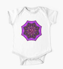 Pink Purple Aum Om Geometry Kids Clothes