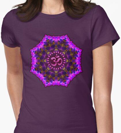 Pink Purple Aum Om Geometry T-Shirt
