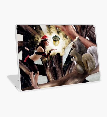 Marry Christmas - Squirrel girl Laptop Skin