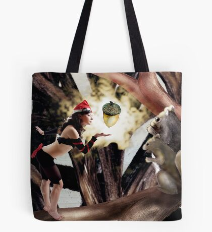 Marry Christmas - Squirrel girl Tote Bag