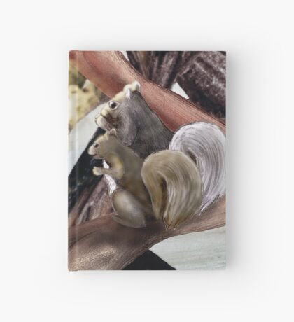 Marry Christmas - Squirrel girl Hardcover Journal