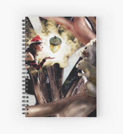 Marry Christmas - Squirrel girl Spiral Notebook