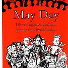 Victorian May Day Poster 2015 by Gary Shaw