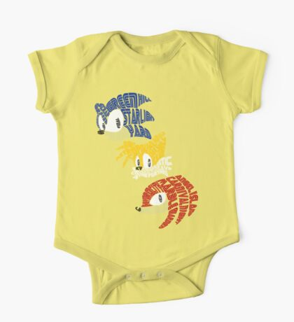 Sonic, Tails & Knuckles Kids Clothes