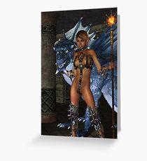 The Dragon Princess Greeting Card